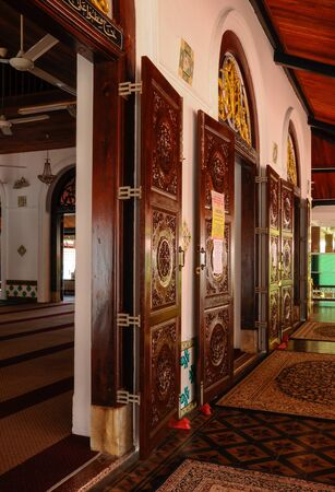 doa: Tranquerah Mosque or Masjid Tengkera, located in Malacca Town, It was built in 1728 and be the oldest mosque in Malacca, Malaysia.