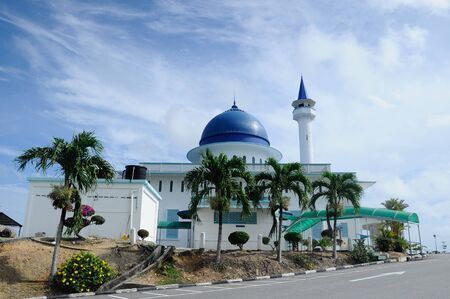 doa: Masjid Jamek Bandar Mersing, it was completed in 1956. Masjid Jamek Mersing was built on the concept of South African architecture.