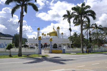 completed: Masjid Diraja Tuanku Munawir is also known as the Royal Mosque of Seri Menanti loaceted at Seri Menanti, Negeri Sembilan, Malaysia.  It was completed in 1964