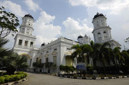 Sultan Abu Bakar State Mosque in Johor Bharu Malaysia