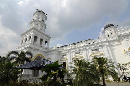 sultan: Sultan Abu Bakar State Mosque in Johor Bharu Malaysia