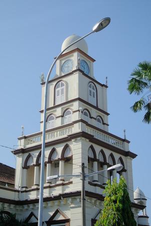 kelantan: Muhammadi Mosque The Kelantan State Mosque in Kelantan Stock Photo