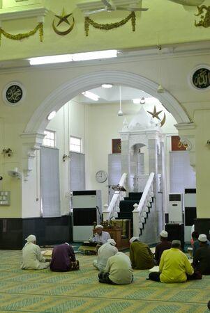 recite: Interior of The Muhammadi Mosque a.k.a The Kelantan State Mosque in Kelantan