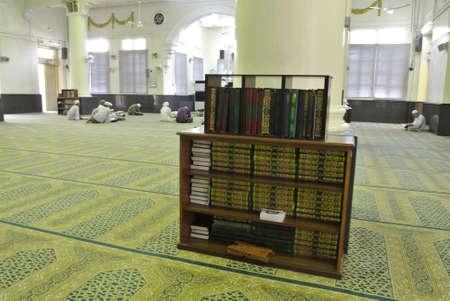 kelantan: Interior of The Muhammadi Mosque a.k.a The Kelantan State Mosque in Kelantan