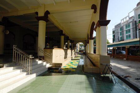 kelantan: Muhammadi Mosque a.k.a The Kelantan State Mosque located in Kota Bharu Kelantan Malaysia. The mosque was originally built in 1887.