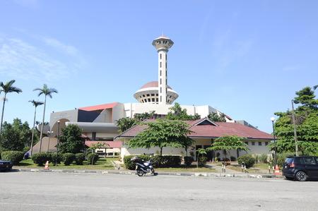Masjid Universiti Putra Malaysia at Serdang Selangor Malaysia Imagens