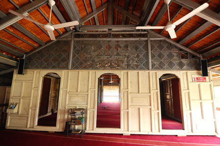 kelantan: Langgar Mosque at Kota Bharu, Kelantan, Malaysia