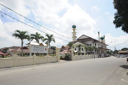 KELANTAN: The Langgar Mosque located at Kota Bharu, Kelantan, Malaysia. The original wooden mosque builds on 1871 by Sultan Muhammad II, and enlarged on 1995.