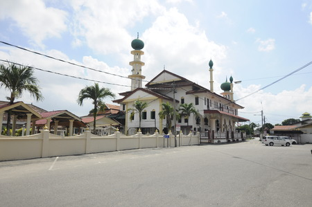 muhammad: The Langgar Mosque located at Kota Bharu, Kelantan, Malaysia. The original wooden mosque builds on 1871 by Sultan Muhammad II, and enlarged on 1995.