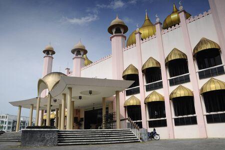 recite: The Kuching Town Mosque aka Masjid Bandaraya Kuching in Kuching Sarawak