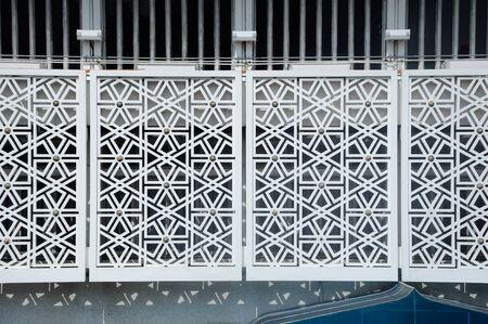 malaysia culture: Islamic geometric wall pattern. The National Mosque of Malaysia a.k.a Masjid Negara