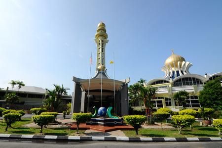 PENANG, MALAYSIA -APRIL 16, 2014: Penang State Mosque or Penang Mosque is a state mosque located in George Town, Penang, Malaysia.