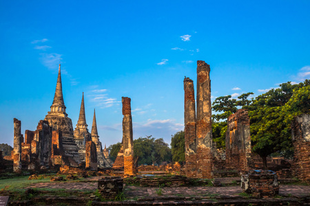 chapel: Buddhism pagoda and chapel  in AYUTTHAYA city