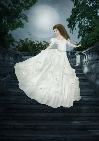 cinderella: Fairy Tale Cinderella Stock Photo