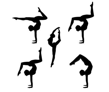 гимнаст Фото со стока