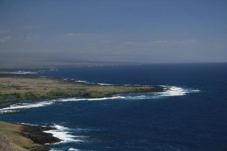 coastline view on Hawaii Big Island photo