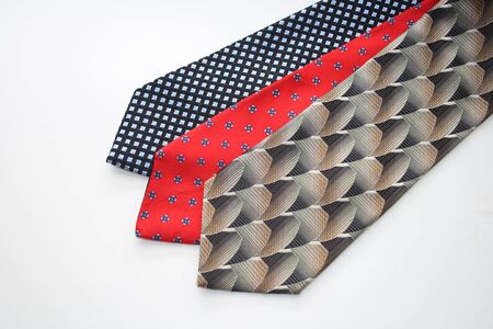 collection of mens neckties