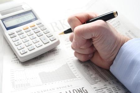 frustration over financial loss Stock fotó - 13379335