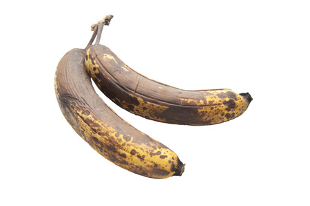 moulder: old brown unhealthy rotten bananas fruit Stock Photo