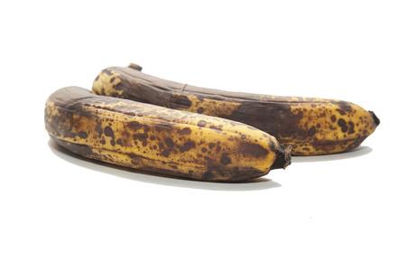 old brown unhealthy rotten bananas fruit 版權商用圖片