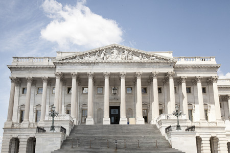 the house and senate wing of capitol building in washington d.c.