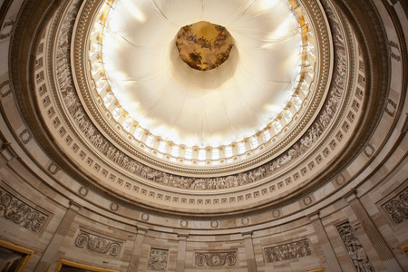 rotunda: U.S. Capitol Rotunda ceiling in Washington D.C.