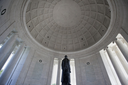 dc: Thomas Jefferson memorial Washington DC