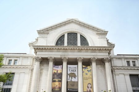 WASHINGTON D.C., MAY 26, 2014: The National Museum of Natural History is a natural history museum administered by the Smithsonian Institution, located on the National Mall in Washington, D.C., United States.