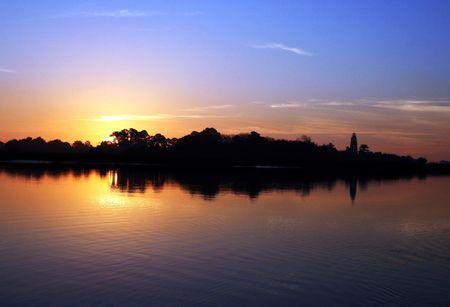 sun rise Geogia Coast