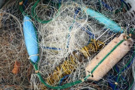 fishery: Fishery net