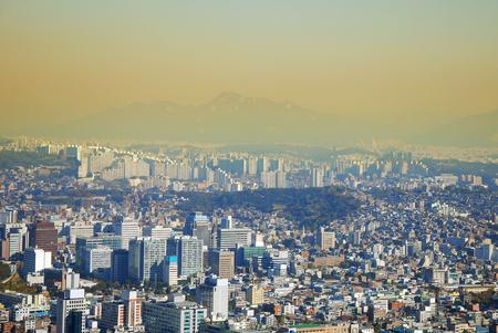 cityscape ,modern building ,bird eye view