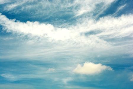 Cloudy, blue sky Stock fotó