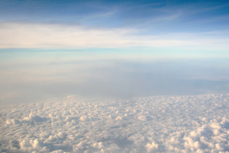 group of cloud with blue sky as background, wallpaper