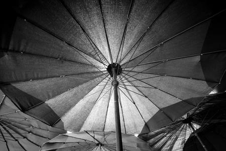 big umbrella , under umbrella,Full Frame Big Blue umbrella