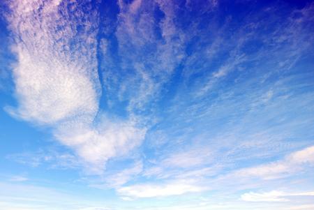 Beautiful cloud with blue sky
