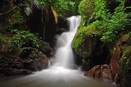 amazing beautiful waterfall Stock fotó