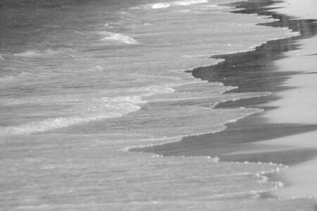 beach and sea and wave