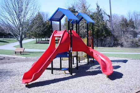 an image of a park slide Stock Photo - 863891