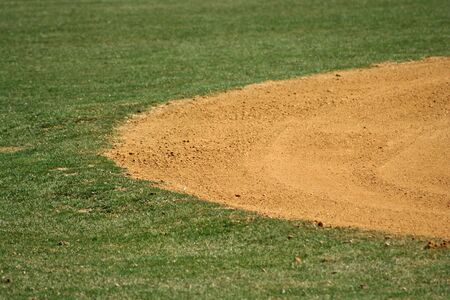an image of a baseball field Stock Photo - 863895