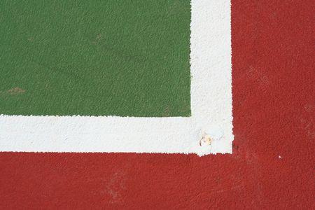 una imagen de una cancha de baloncesto Foto de archivo - 863939