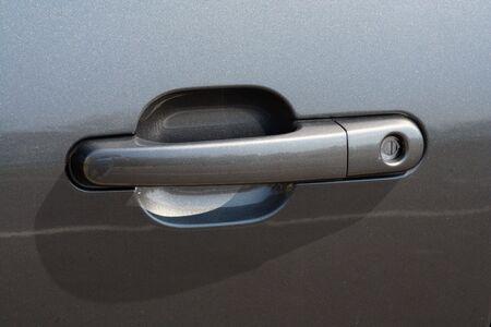 door handle: an image of a Car door handle