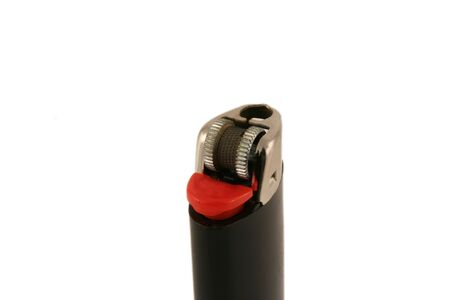 una imagen de un encendedor negro Foto de archivo - 914300