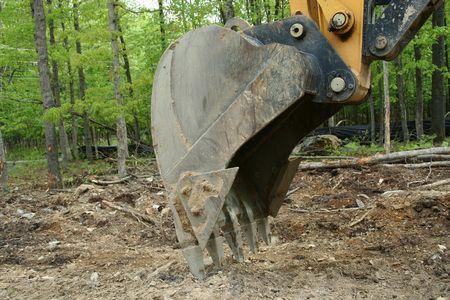 an image of a backhoe bucket Stock Photo - 948020