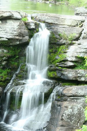 an image of Resica Falls Stock Photo - 948044