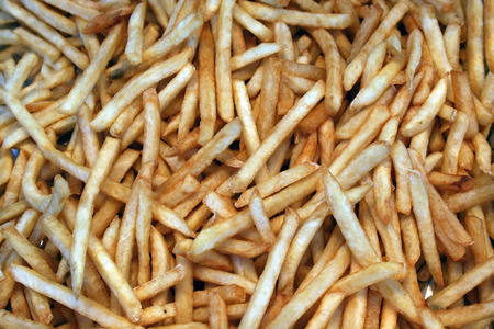 a bunch of french fries ready to eat Stock Photo - 1656003