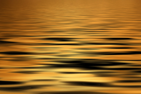 A golden water abstract background