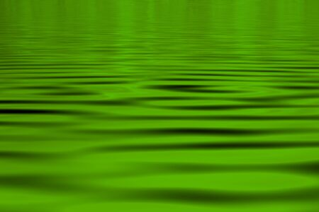 A green water abstract background Stock Photo
