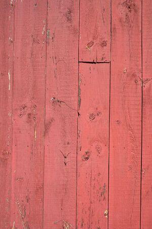 赤い納屋の木製の背景風化外観