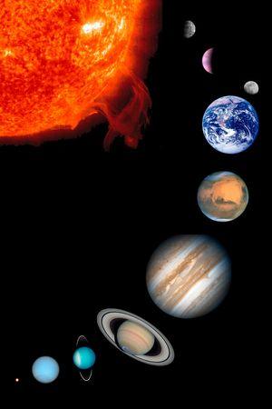 astronomie: Das Solarsystem
