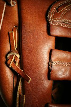Guante de b�isbol  Foto de archivo - 1877531
